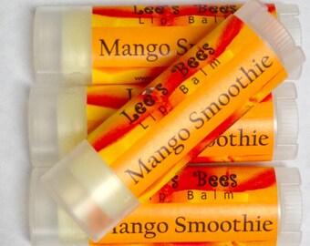 Mango Smoothie Lip Balm - Beeswax Lip Salve Chapstick from Lee the Beekeeper