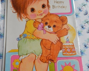 Vintage Unused 1970s or 1980s To A Special Mummy Happy Birthday Card