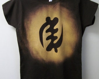 Gye Nyame T Shirt African symbol tops and tees t-shirts t shirts| Free Shipping