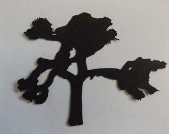 10 Pack Joshua Tree Die Cuts Joshua Tree Shapes U2 Inspired California National Park Scrapbook Supply Plant Tree Pattern (38)