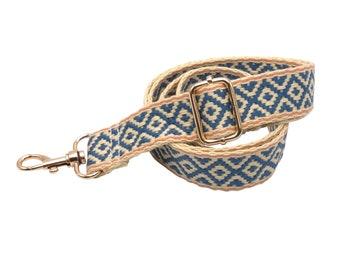 Pocket Strap adjustable-crossover shoulder strap plaid pattern Strap-Accessories for shoulder bags, carrying bags and handbags 60-120 cm
