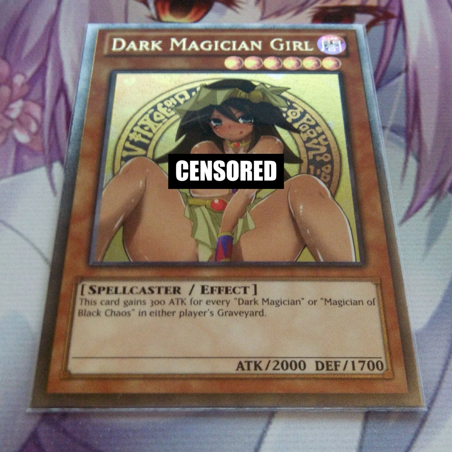dark magician girl xxx card