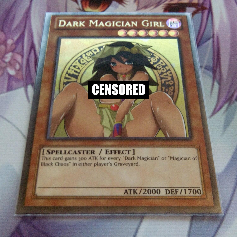 Naked Dark Magician Girl Card