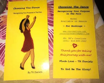 Choosing The Dance - Bookmark (laminated)
