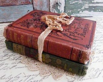 Antique Books by avintageobsession on etsy