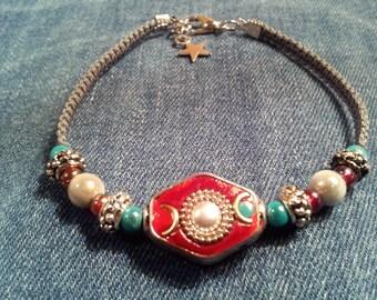 Indian braided bracelet