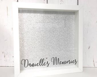 Making Memories | Personalised Memory Box Ticket Shadow Box | Shadow Box Ticket | Ticket Stub Box | Cinema Stub |Drop Box |Memory Shadow Box