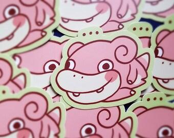 Slowpoke Sticker