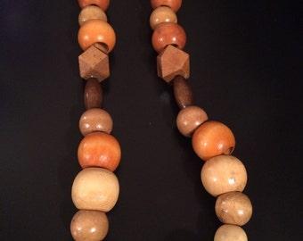 Native Necklace, Native Bracelet, Big Jewelry, Wooden Jewelry, Tribal Necklace, Tribal Bracelet, 2timothys16, Tribal jewelry, Chunky Jewelry