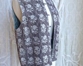 Reversible Indian Gauze Cotton Vest