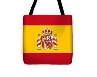 Beautiful Spain Flag - Tote Bag