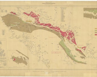 Geological and Natural History Map of Canada - 1887
