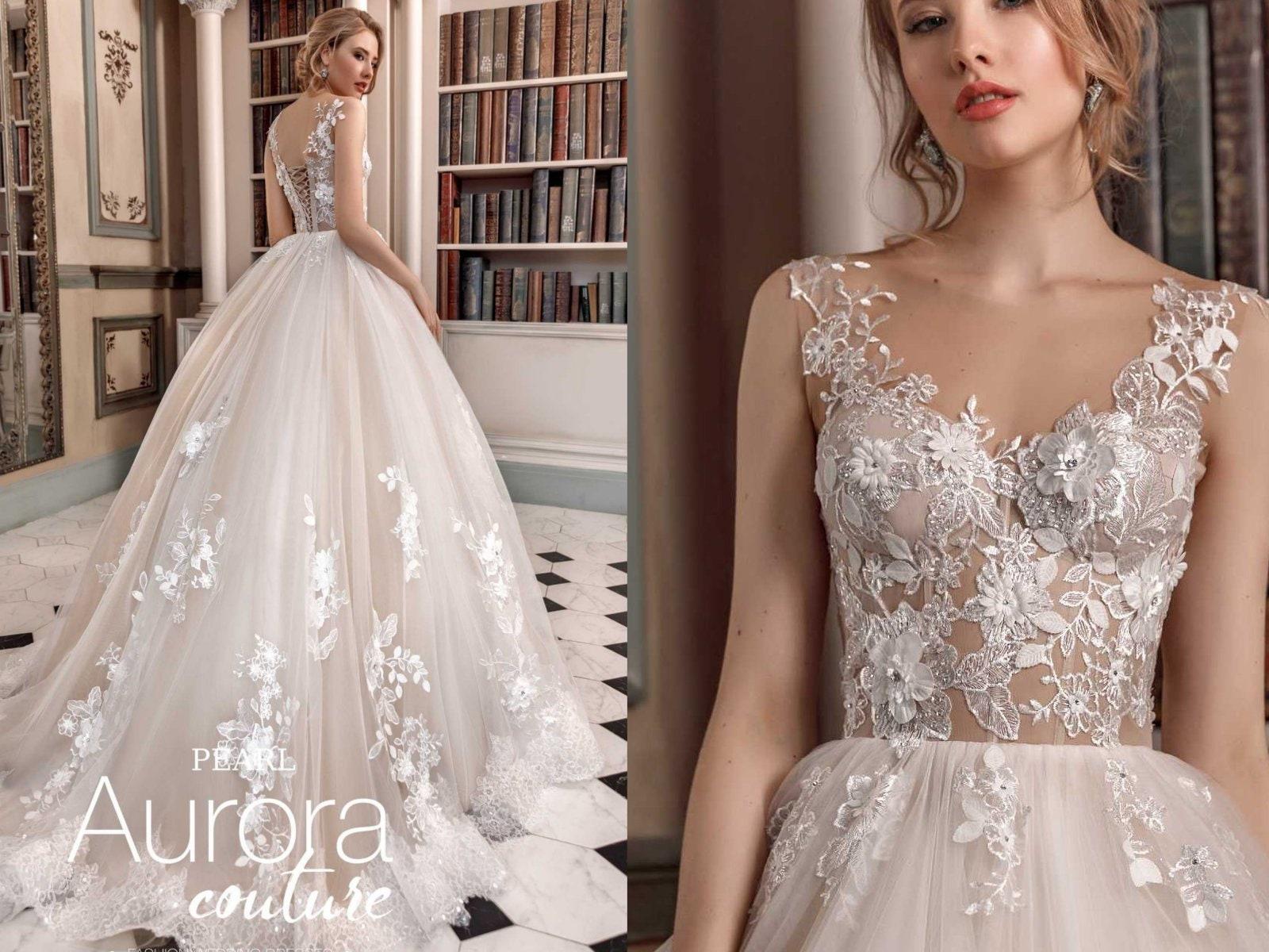 Hochzeitskleid PEARL Boho Brautkleid Strand Brautkleid