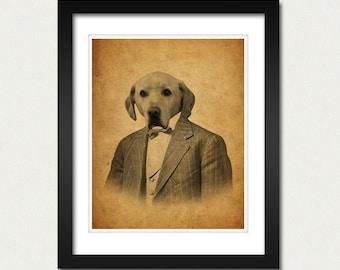 Yellow Labrador - Yellow Lab Art Print