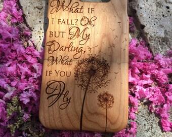 Peter Pan quote - iPhone SE 5, 6s, 6+, 7, 7+, 8, 8+, X, GALAXY s5, s6, s6 edge, s6 edge +, S7, S7 Edge, S8, S8 Plus, Note, wood cases