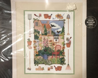 The joy of Gardening Counted Cross Stitch  Kit Dimensions 3771