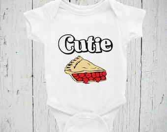 Cutie Pie Onesie/Bodysuit