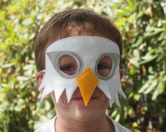 Bald Eagle Mask / Eagle Mask / Felt Mask