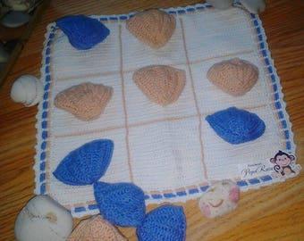 Tic-Tac-Toe, games, handmade sea chess,