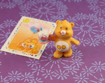 Care Bear Countdown Friend Bear Figure Sticker 1984 Care Bear Collectables