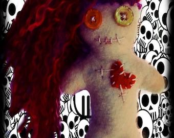 Implings Voody Doo Doll ' Mini Curse '