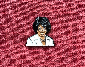 Maxine Waters Lapel Pin - NO quote