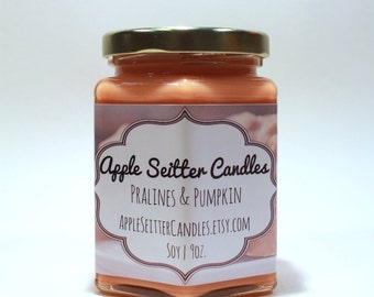 All Natural Pralines & Pumpkin Soy Candle