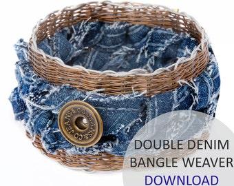 Double Denim Bangle Weaver Project Download