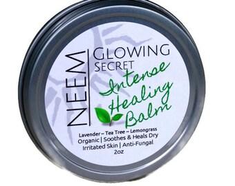 Organic Healing Balm |Healing Salve | Neem Balm | Vegan Balm | Eczema | Psoriasis | Anti Fungal Salve | Soothes Itchy Skin