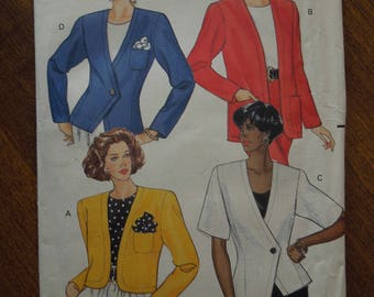 Butterick4571, sizes 6-10, UNCUT sewing pattern, craft supplies, unlined jackets
