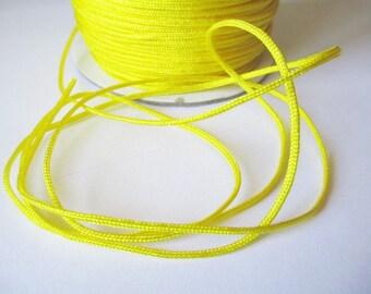 10 m 1.5 mm yellow nylon string