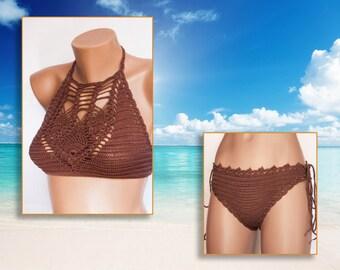 Beach Wear  Summer Trends ! Crochet top and panties, beachwear, summer trends, crochet top, crochet shorts