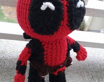 Deadpool Amigurumi