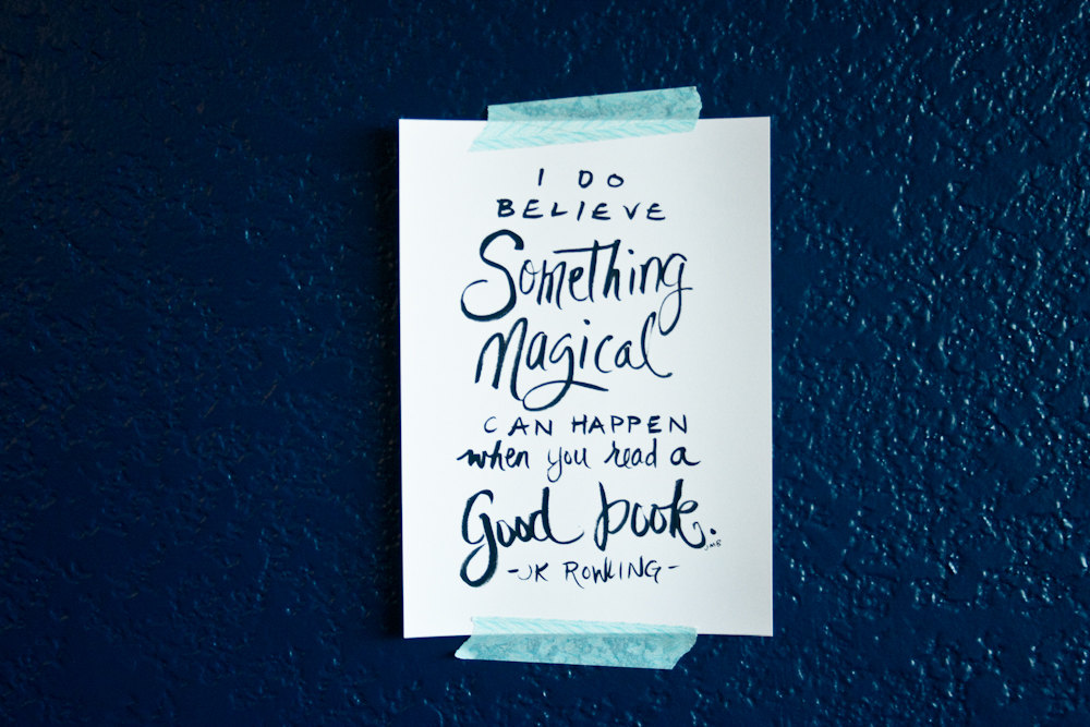 Magical Quotes Endearing Book Quote Quote About Books J K Rowling Quote Magic Quote