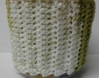 Green & White Stripes Ice Cream Sweater  Cozy
