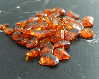 20 genuine Ambers 506 beads