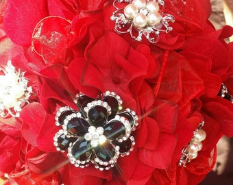 MY Red Heart Bouquet