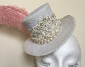 Mini Top Hat by OTM Design Millinery