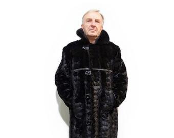 Mink Coat For Men F720