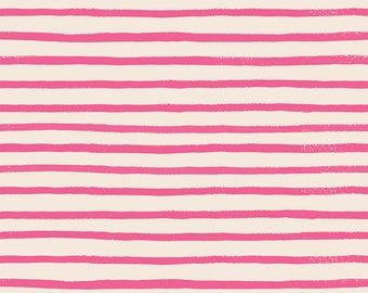 PRESALE: Stripes (pink fabric) from English Garden by Rifle Paper Co.