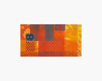 Monotype Modern Artwork, Hand Print, Painterly Prints, FIne Prints,Home & Wall Decor, Artist Wall Art, Art Pictures, Contemporary Art