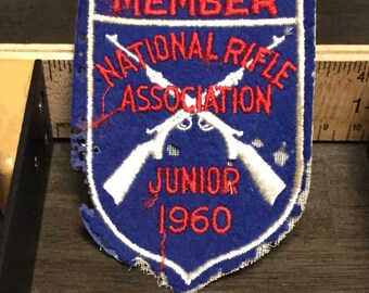National Rifle Association (NRA) Junior Patch (1960)