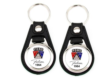 1964 FORD FALCON KEYCHAIN set 2 pack