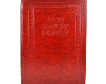 1983 Gage County Beatrice Nebraska History Book Hardcover Taylor Publishing