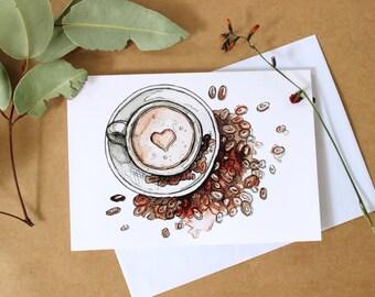 Coffee Gift Card- Print