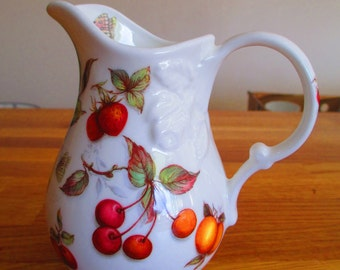 butterfly china decorative jug , china fruits jug, milk jug ref 7