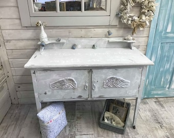 Shabby chic Feathered wings cupboard