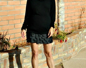 Maternity Clothes for Winter-Maternity Clothes-Maternity Clothes for Women-Maternity Clothes Cute-Skirts-Clothing-Ribbon Ruffle Skirt