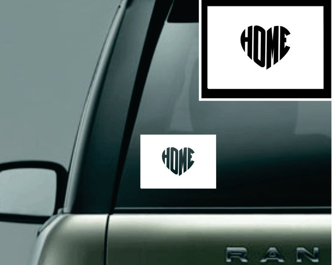 Wyoming Love Your State Car Decal