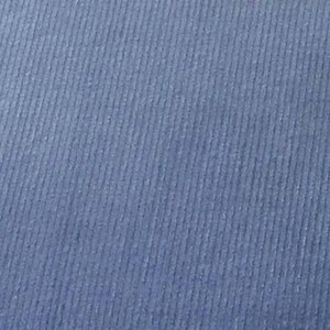 "SALE Periwinkle Featherwale Corduroy Fabric  --  44""/45"""" Wide"